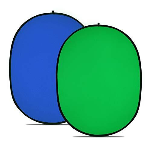 Lot de 2 toiles de fond Neewer - fond bleu + fond vert, 150x200 cm (vendeur tiers)