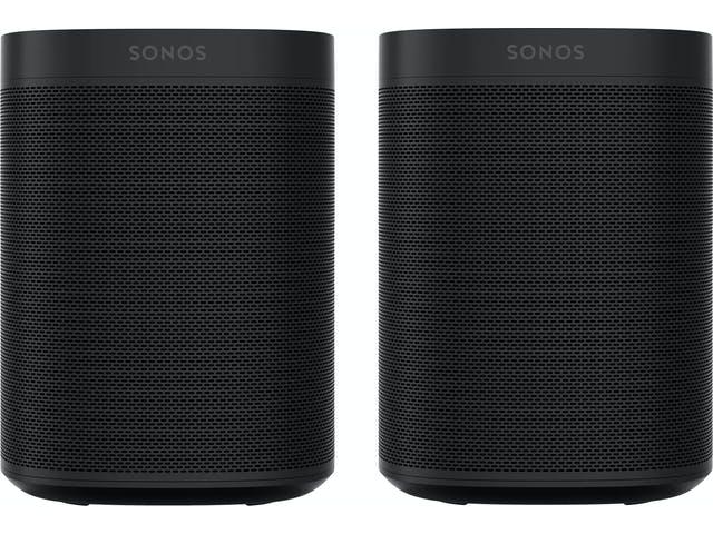 Paire d'Enceintes sans fil Sonos One SL - Noir