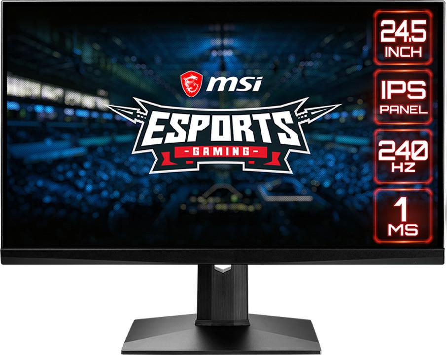 "Écran PC 24.5"" MSI Optix MAG251RX - full HD, LED IPS, 1 ms, 240 Hz, FreeSync / G-Sync compatible"