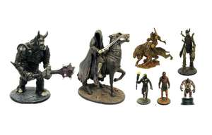 [Pré-commande] Set de 10 figurines de collection Mystery Game of Thrones ou Lord of the Rings
