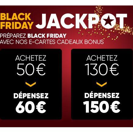 E-carte cadeau Fnac / Darty d'une valeur de 150€ pour 130€ et 60€ pour 50€ (2 cartes max par montant) - Valable jusqu'au 31/12 inclus