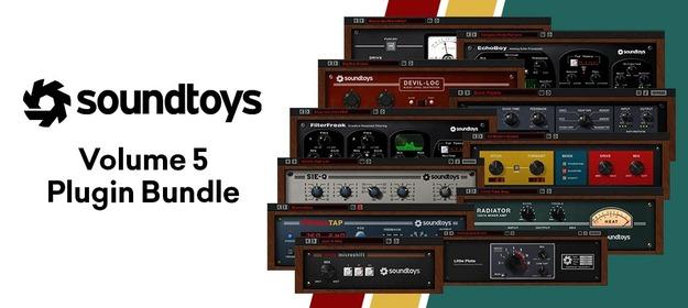 Plug-ins VST Soundtoys 5 - The Ultimate Effect Rack sur PC & MAC (Dématérialisé - pluginboutique.com)