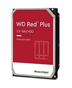 """Disque dur interne 3.5"""" Western Digital WD Red Plus - 12 To"""