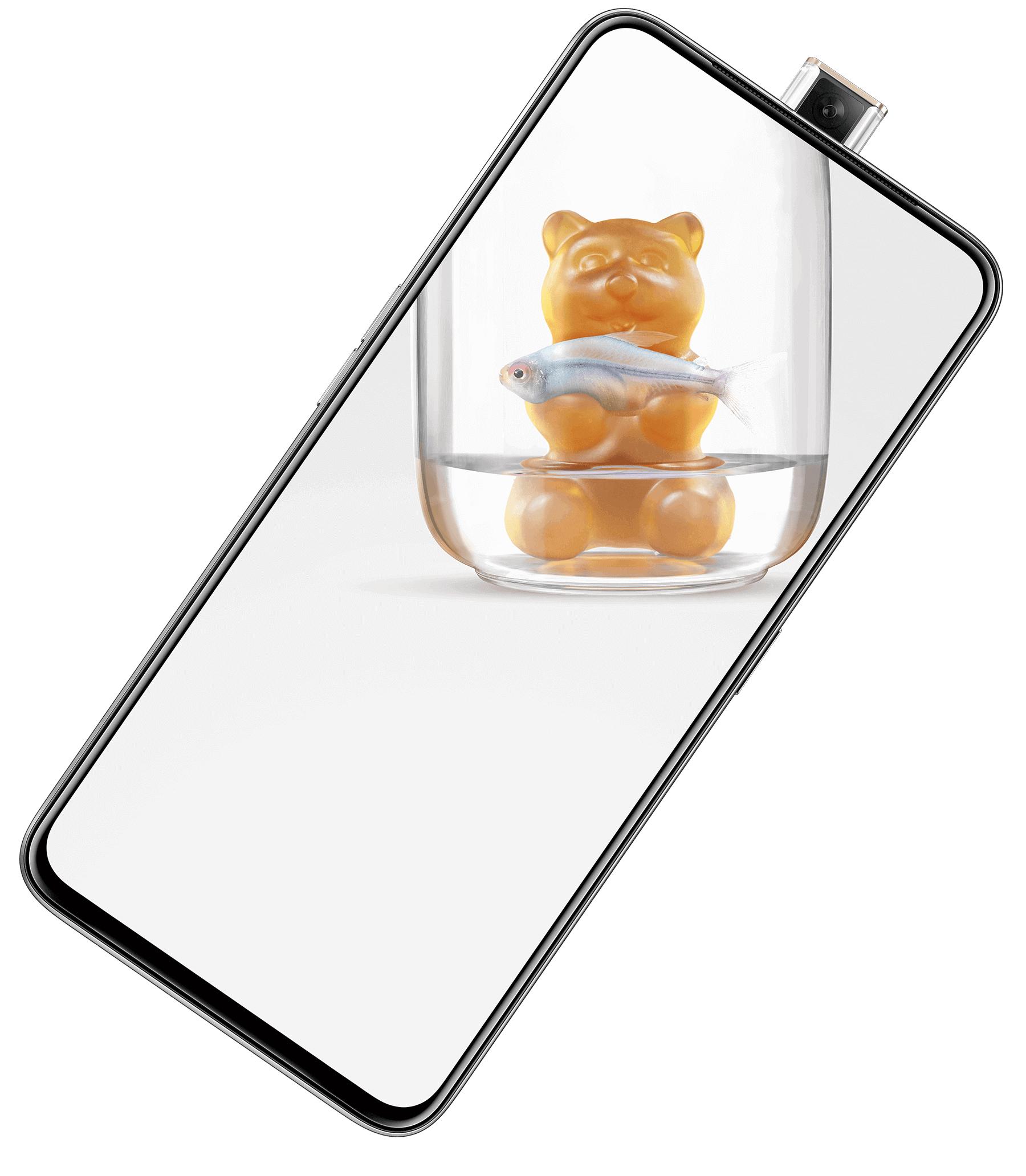 """Smartphone6.5"""" OppoReno 2Z (Coloris au choix) - 128 Go (Via Retrait dans une sélection de magasins)"""