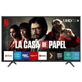 "TV 65"" Hisense H65B7100 - 4K, HDR10+, Full Led, Smart TV, Dalle 50 Hz, Pieds ajustables"