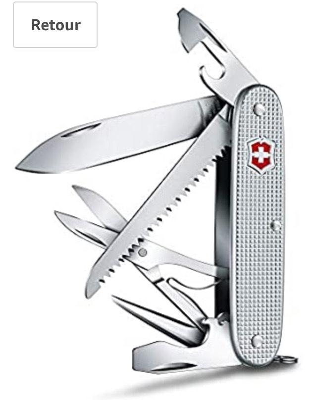 Couteau de Poche Victorinox Farmer X, ALOX, 91 mm