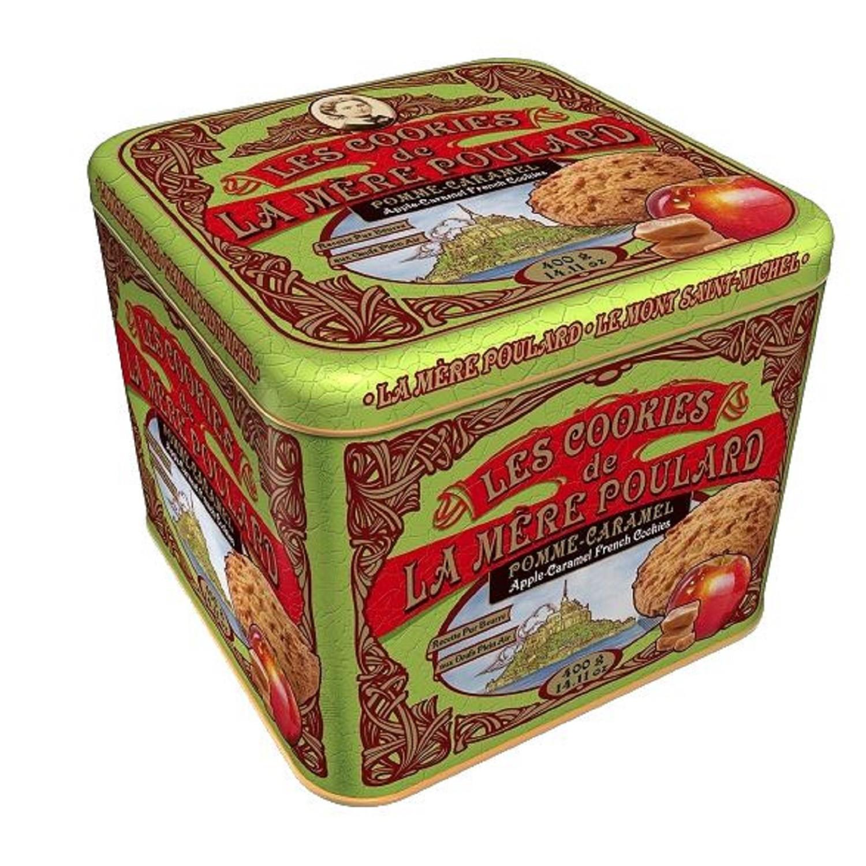 Biscuits cookies pomme-caramel La Mère Poulard - 400G