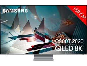 "TV 75"" Samsung QE75Q800T (2020) - 8K, HDR 2000, Smart TV"