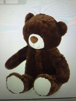 Peluche Ours brun - 1m
