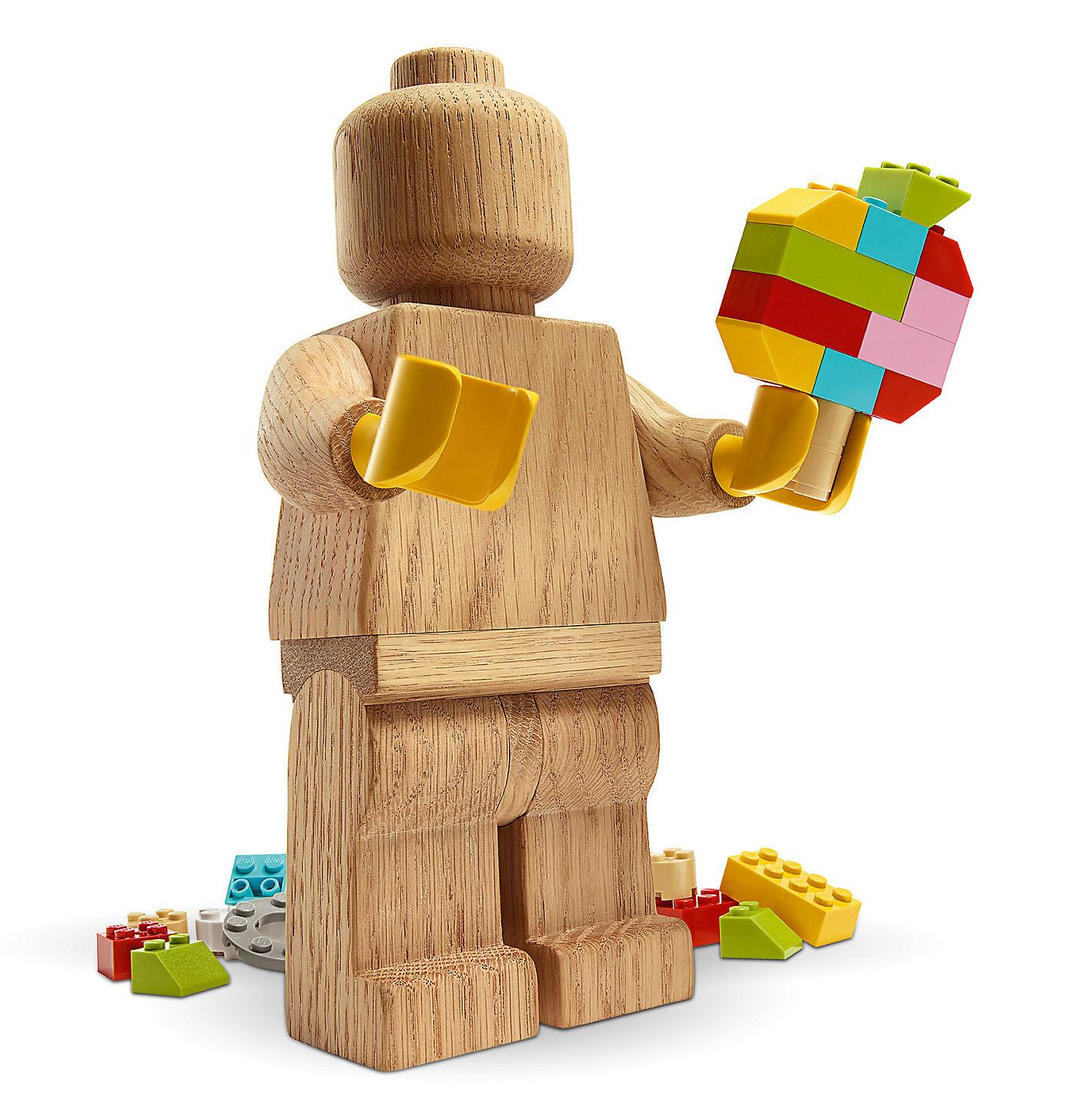 Figurine en bois Lego originals - 20cm