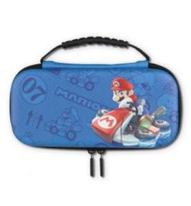 Pochette + étui de protection Power A Mario Kart pour Consoles Nintendo Switch Lite