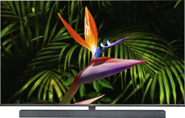 """TV 65"""" TCL 65X10 - 4K UHD, Mini-LED, HDR10+, Dolby Vision & Atmos, Android TV, Barre de son intégrée (Via ODR de 300€)"""
