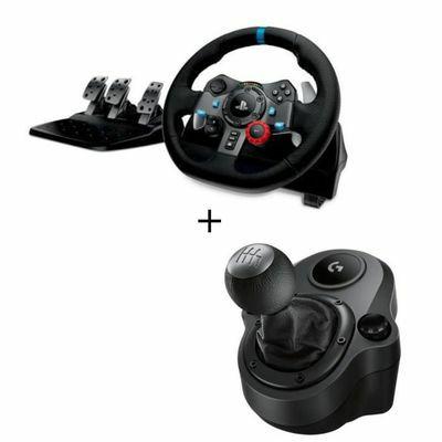 Volant Logitech G29 + pédalier + levier de vitesse