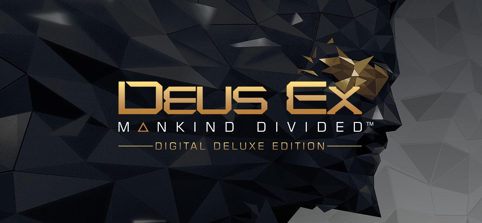 Jeu Deus Ex : Mankind Divided - Digital Deluxe Edition : Jeu de base + Season Pass sur PC (DRM-Free, VPN Russe)