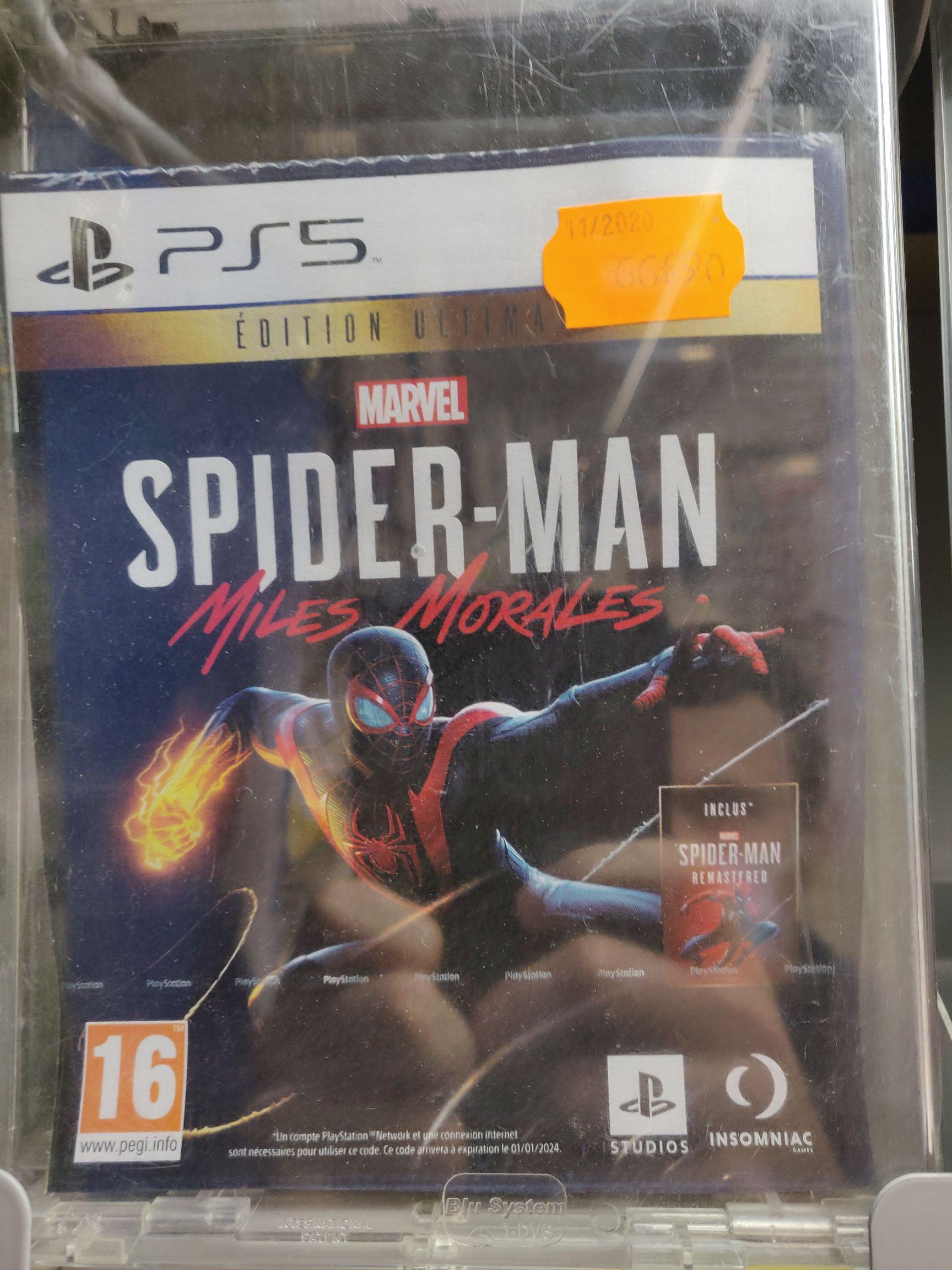 Spider-Man Miles Morales Ultimate Edition sur PS5 - Pont-l'Abbé (29)