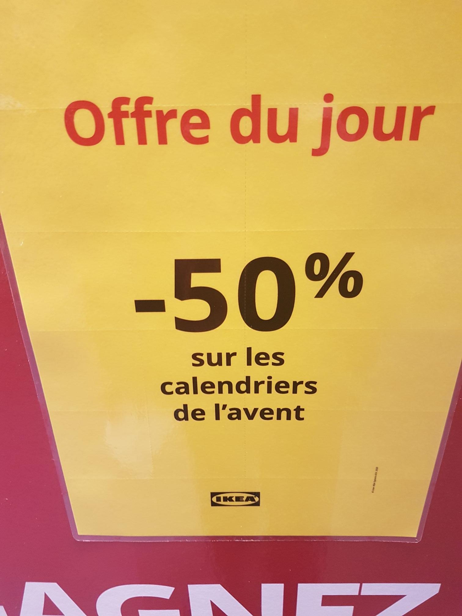 50% de remise sur les Calendriers de l'avent Lindt + Bon d'achat de 5€ (Plaisir 78)