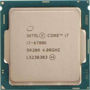 Processeur Intel Core i7-6700K version Tray - 4 Ghz, 4 Cores, 8 Threads, 8 Mo Cache, Socket 1151