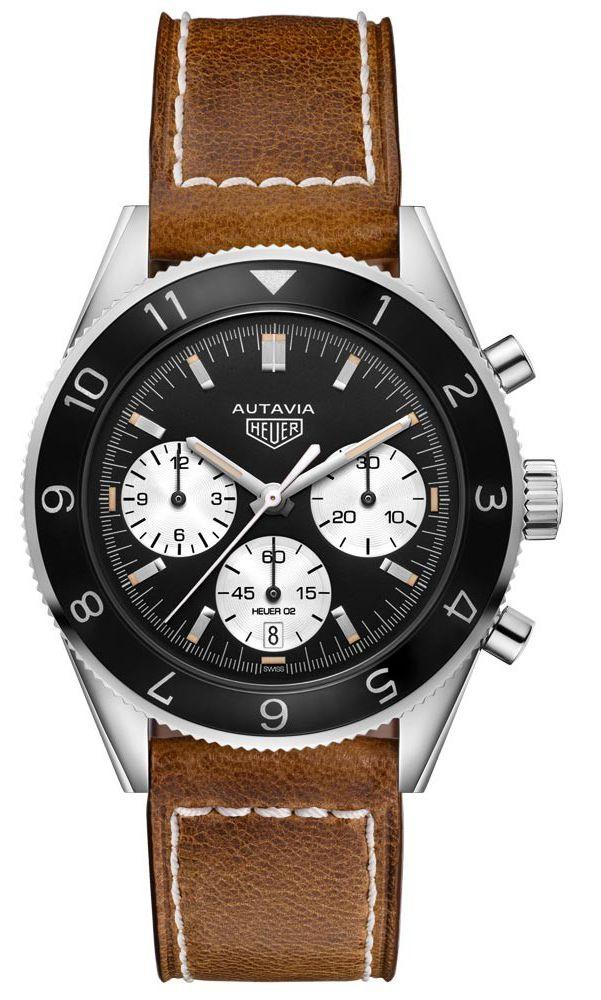 Montre Chronographe Automatique Tag Heuer Heritage Autavia CBE2110.FC8226 (lepage.fr)