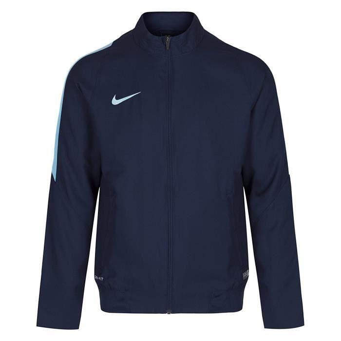 Veste Nike Dri-Fit pour Homme - Tailles du S au 2XL - Bleu marine