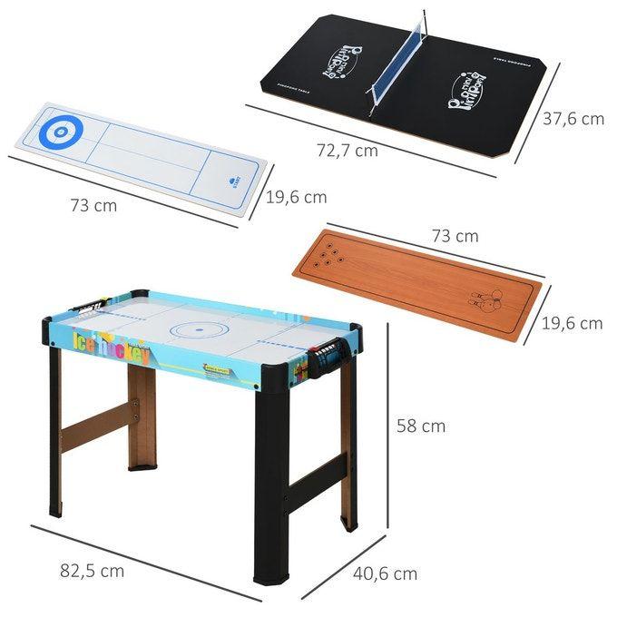Table multi-jeux pour enfants Homcom (Vendeur tiers)