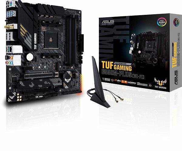 Carte mère Asus TUF Gaming B550M-Plus Wi-Fi