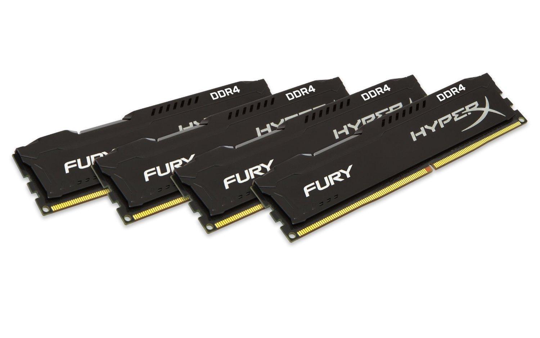 Kit mémoire DDR4 Kingston HyperX Fury 32Go (4 x 8 Go) - 2400MHz, CL15