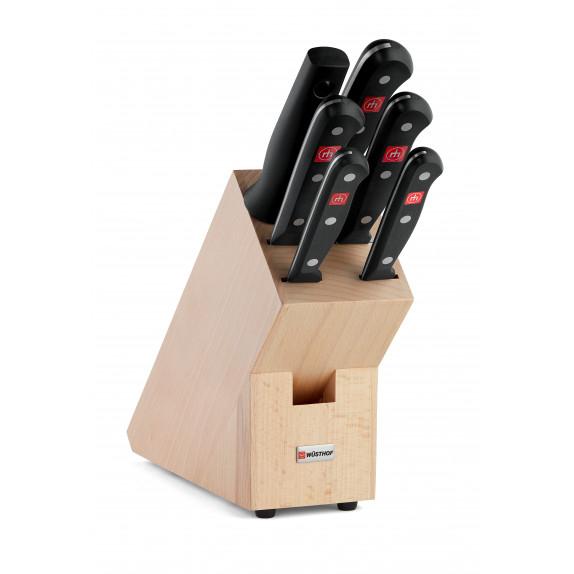 Sélection de produits en promotion - Ex : Bloc couteaux gourmet (6 pièces) - wusthof.fr