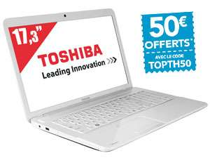 "PC Portable 17,3"" Toshiba Satellite C870-1GD, i5-3230M (2,6 GHz), 4 Go RAM"
