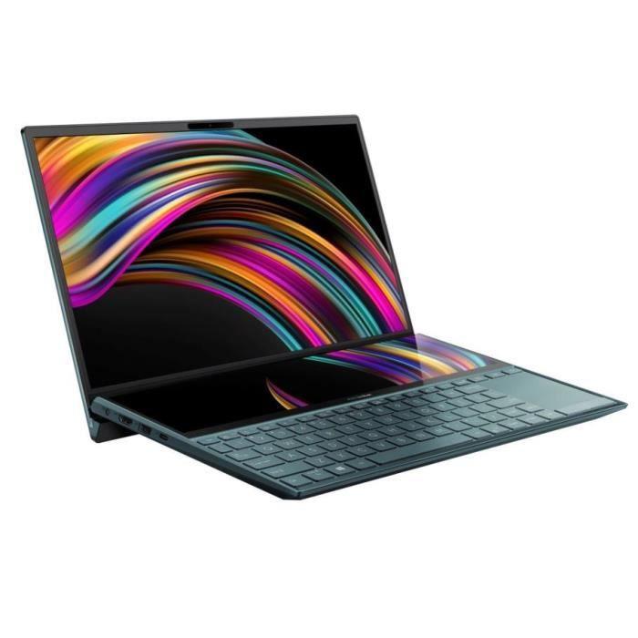 """PC Portable 14"""" Asus Zenbook Duo UX481FA-BM099T - i5-10210U, 16Go de RAM, 512 Go SSD, Windows 10"""