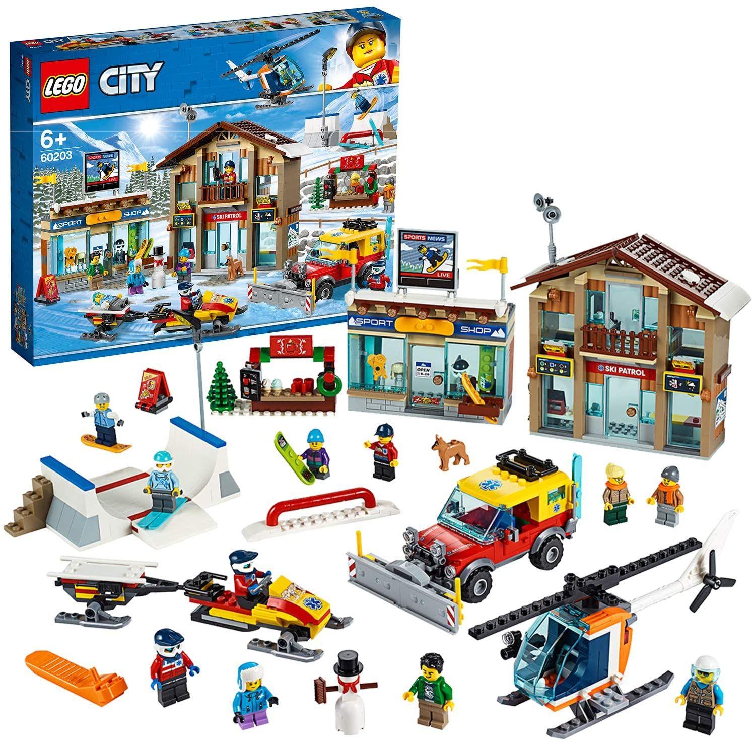 Jeu de construction Lego 60203 - La station de ski