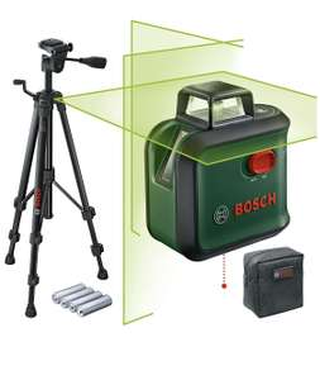 Niveau laser Bosch AdvancedLevel 360 + Trépied