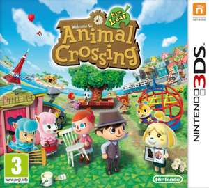 Animal Crossing - New Leaf sur Nintendo 3DS