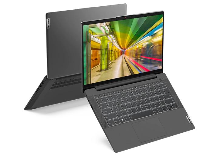"""PC Portable 14"""" IdeaPad 5i - Full HD, i7-1165G7, RAM 16 Go 3200 MHz, SSD NVMe 512 Go, MX450 2 Go, Sans OS, Clavier rétroéclaire, WiFi 6"""