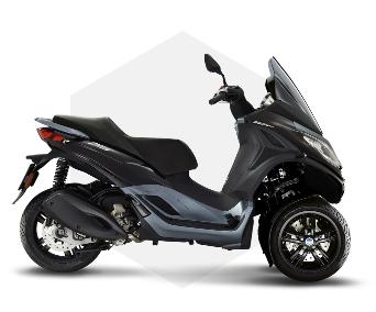 Sélection de scooters de la gamme Piaggio MP3 en promotion - Ex: MP3 300 HPE + garantie 4 ans (en concession)