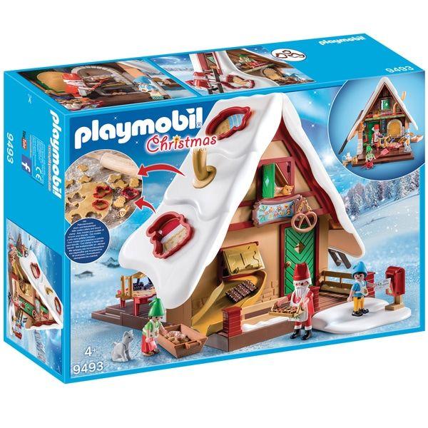 Jeu de construction Playmobil Christmas - Atelier de biscuit du Père Noël avec moules 9493 (Retrait magasin)