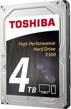 Disque interne Toshiba X300 - 4 To (7200rpm - 128 Mo)