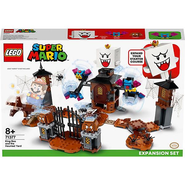 Jouet Lego Super Mario - Le jardin hanté du Roi Boo (71377)