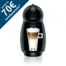 Machine à café Dolce Gusto Krups Piccolo YY1049 noir avec ODR (30€) pour l'achat de 3 boites de capsules