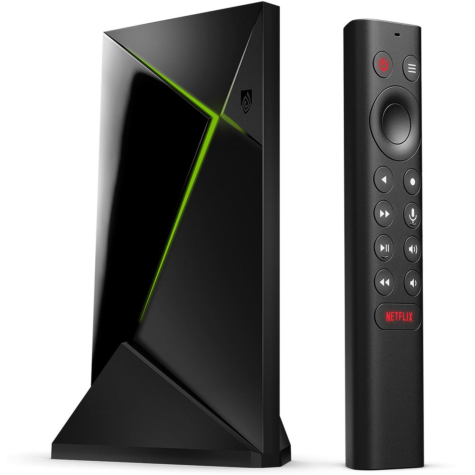 Lecteur multimédia Nvidia Shield TV Pro - 4K, Tegra X1+, RAM 3 Go, 16 Go (194.28€ avec le code LASTCHANCE)