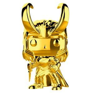 Figurine Pop! Loki Chrome Marvel Studios 10 ans
