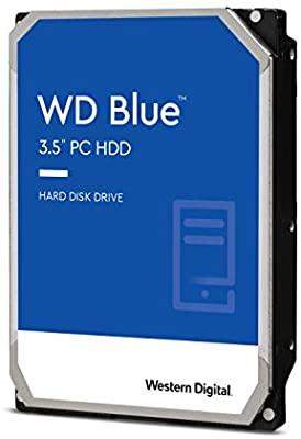 "Disque Dur Interne 3.5"" WD Blue WD60EZAZ - 6 To, 5400 tr/min"