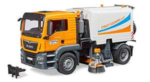 Jouet Balayeuse Bruder 03780 Man TGS Truck Road Cleaning