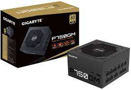 Alimentation Modulaire Gigabyte P750GM - 750W, 80 Plus Gold