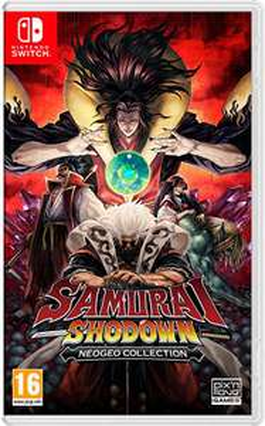 Samurai Shodown NeoGeo Collection Switch & PS4