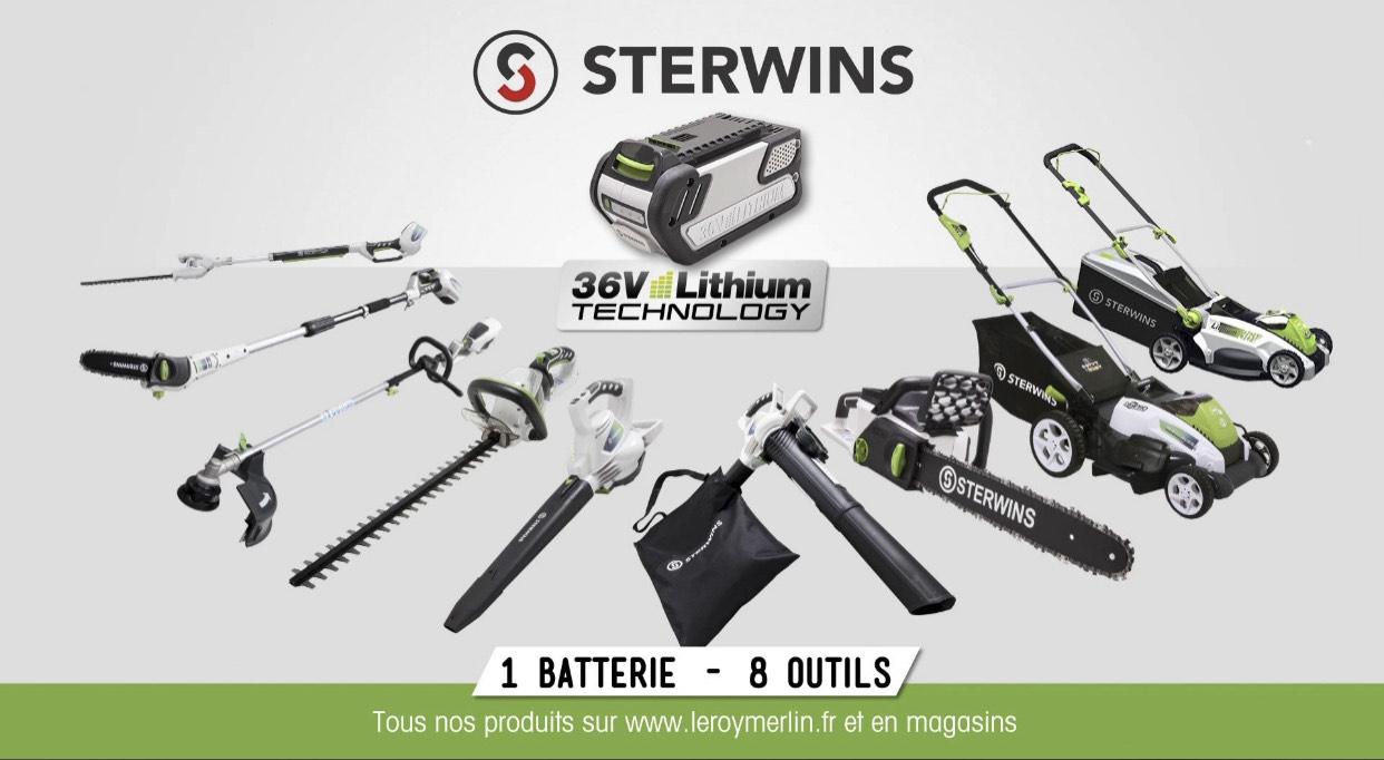 Batterie lithium-ion Sterwins 36V2AH li-2 - 36 V, 2 Ah - Brive (19)