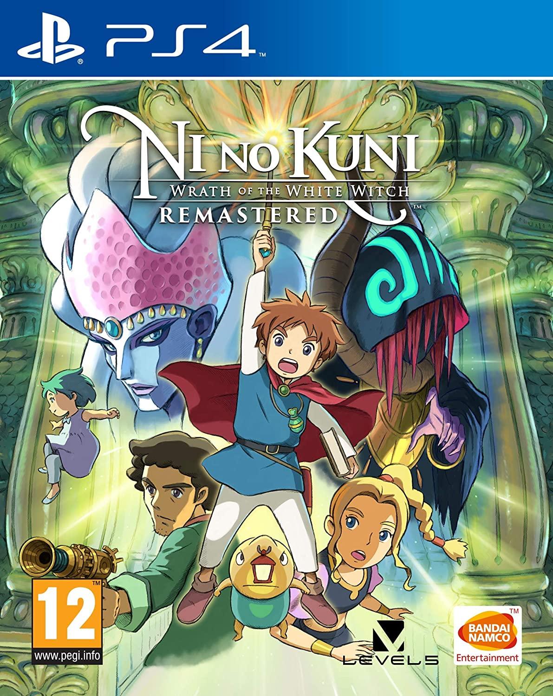 Ni no Kuni: Wrath of the White Witch Remastered sur PS4 (Dématérialisé)