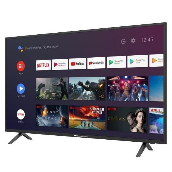 "TV 55"" Continental Edison CELED55SA120B6 - LED, 4K UHD, HDR, Android TV, A+"