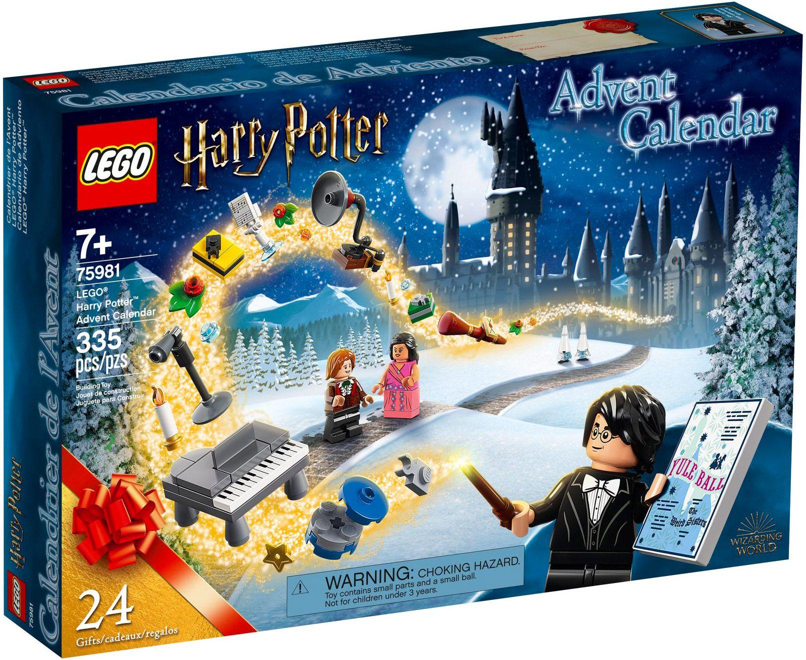 Calendrier de l'avent Lego Harry Potter, Star Wars, City ou Friends (retrait en magasin)