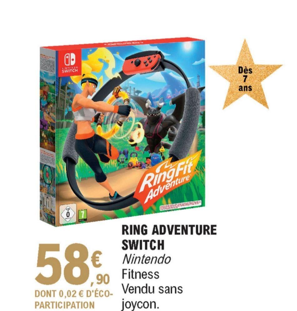 Jeu Ring fit Adventure sur Nintendo Switch - Ibos (65)