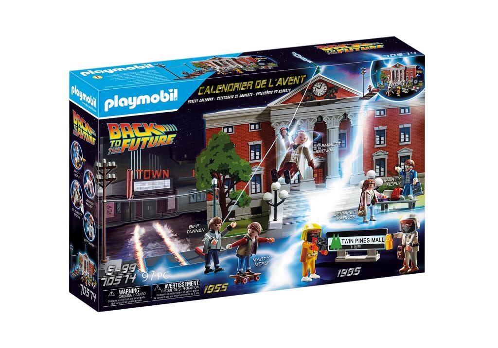 Calendrier de l'avent Playmobil Retour vers le Futur (en retrait magasin)